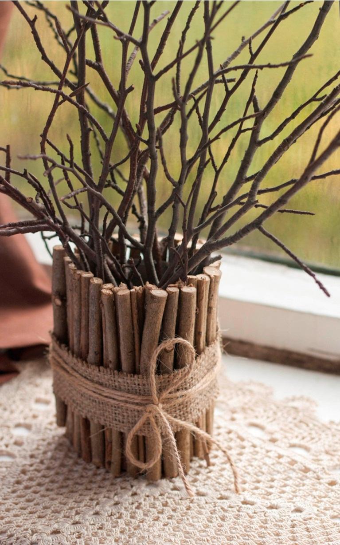 Как сделать ветки для декора