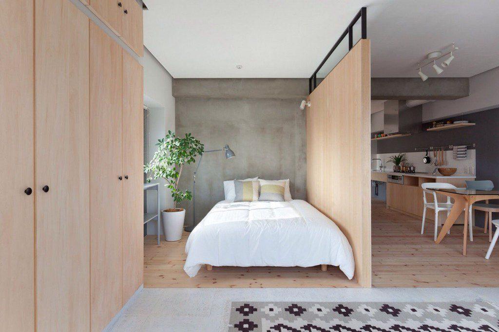 отделенная спальная зона