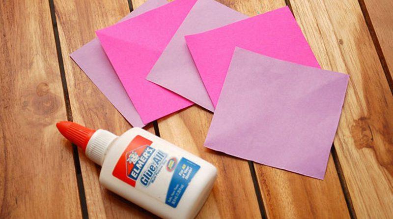 бумага и клей