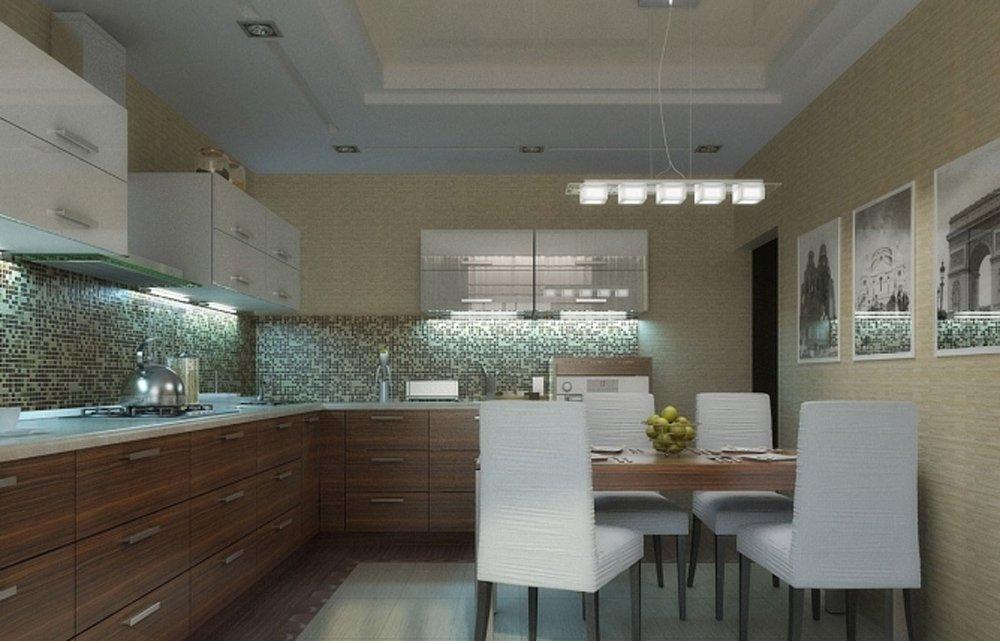 Дизайн кухни 12 кв метров: грамотно используем