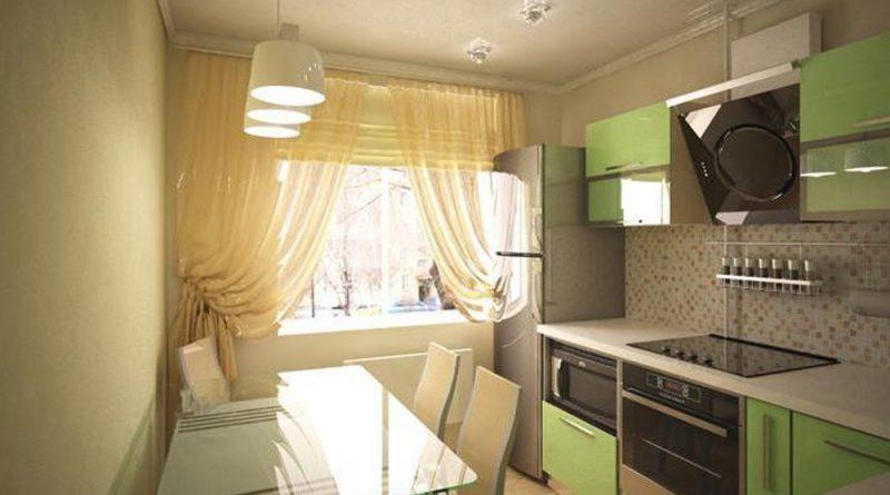 Фото дизайнов кухни 9.5 кв.м