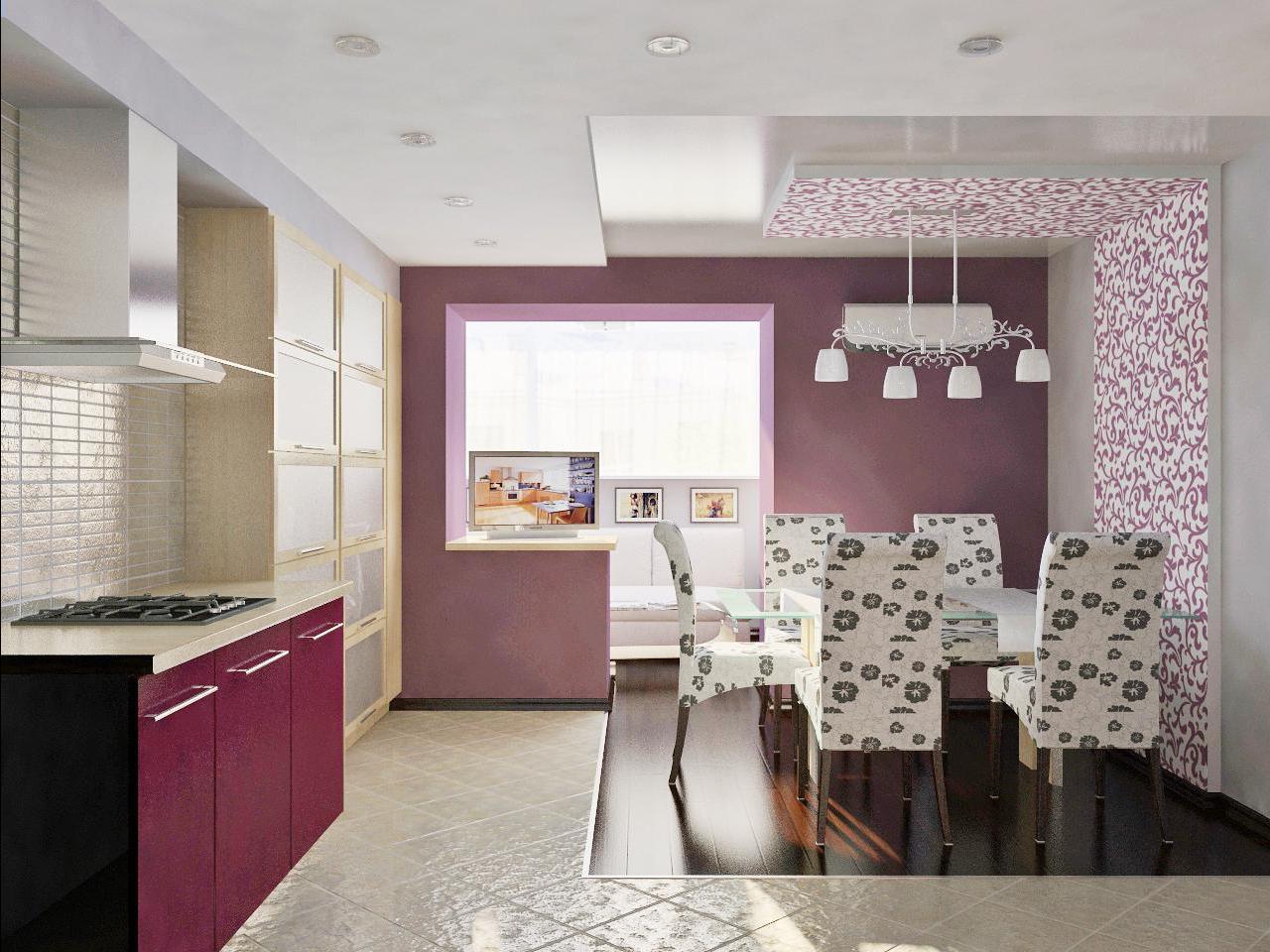 Правильно оформленный дизайн кухни 15 кв м: потолок, стены, .