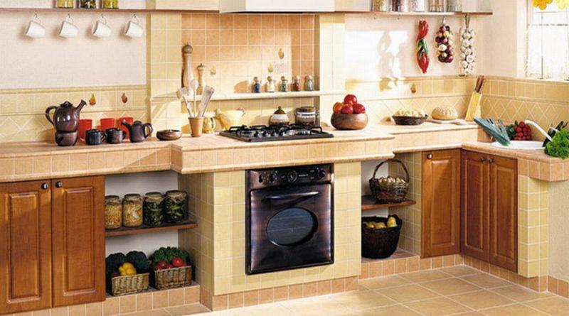 печка и вытяжка