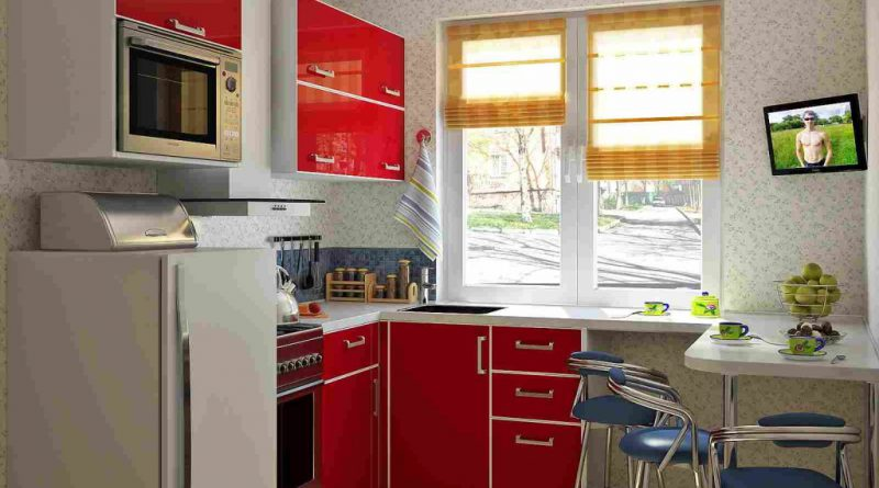 красная кухня