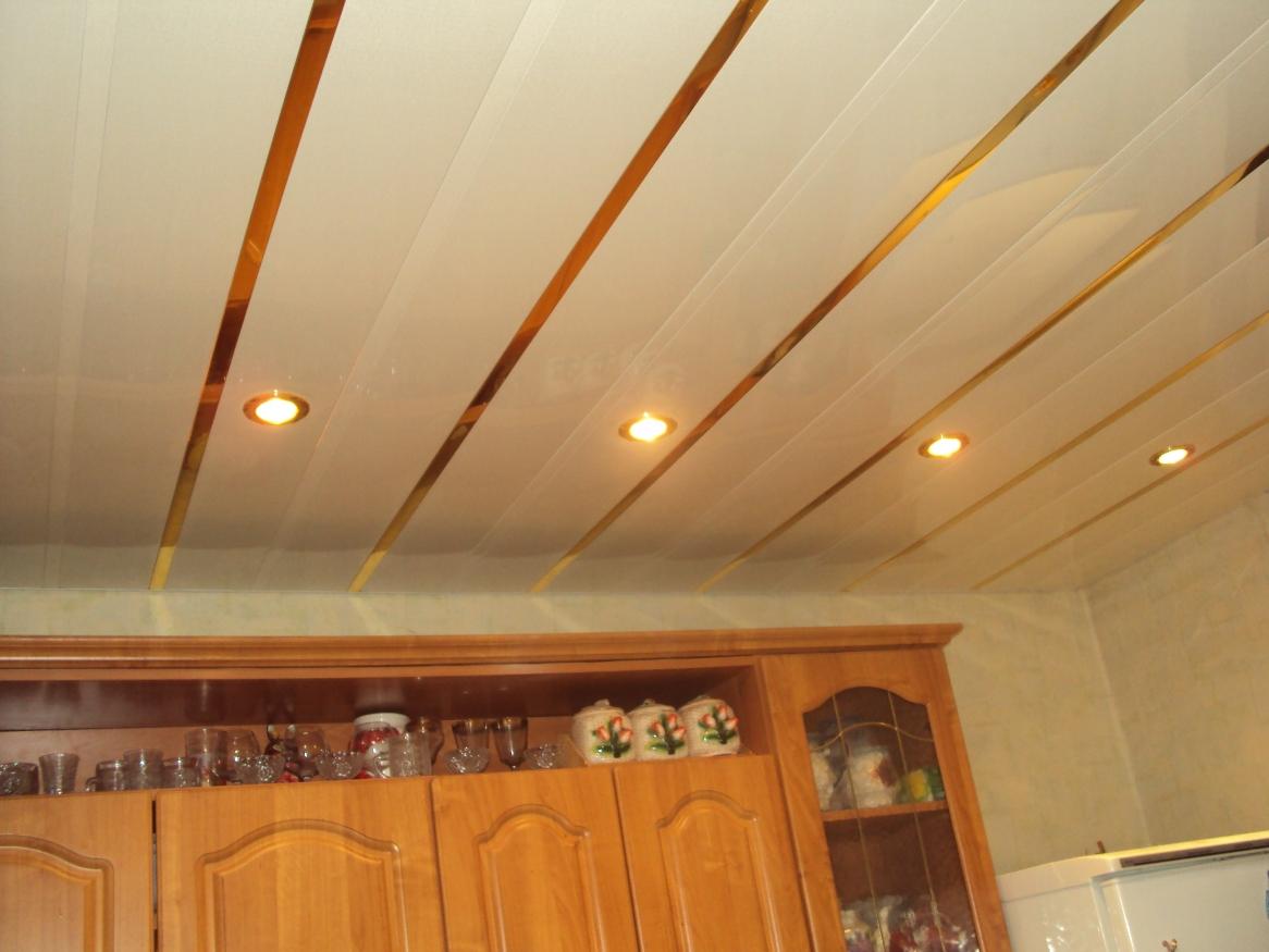 Как сделать навесные потолки для кухни