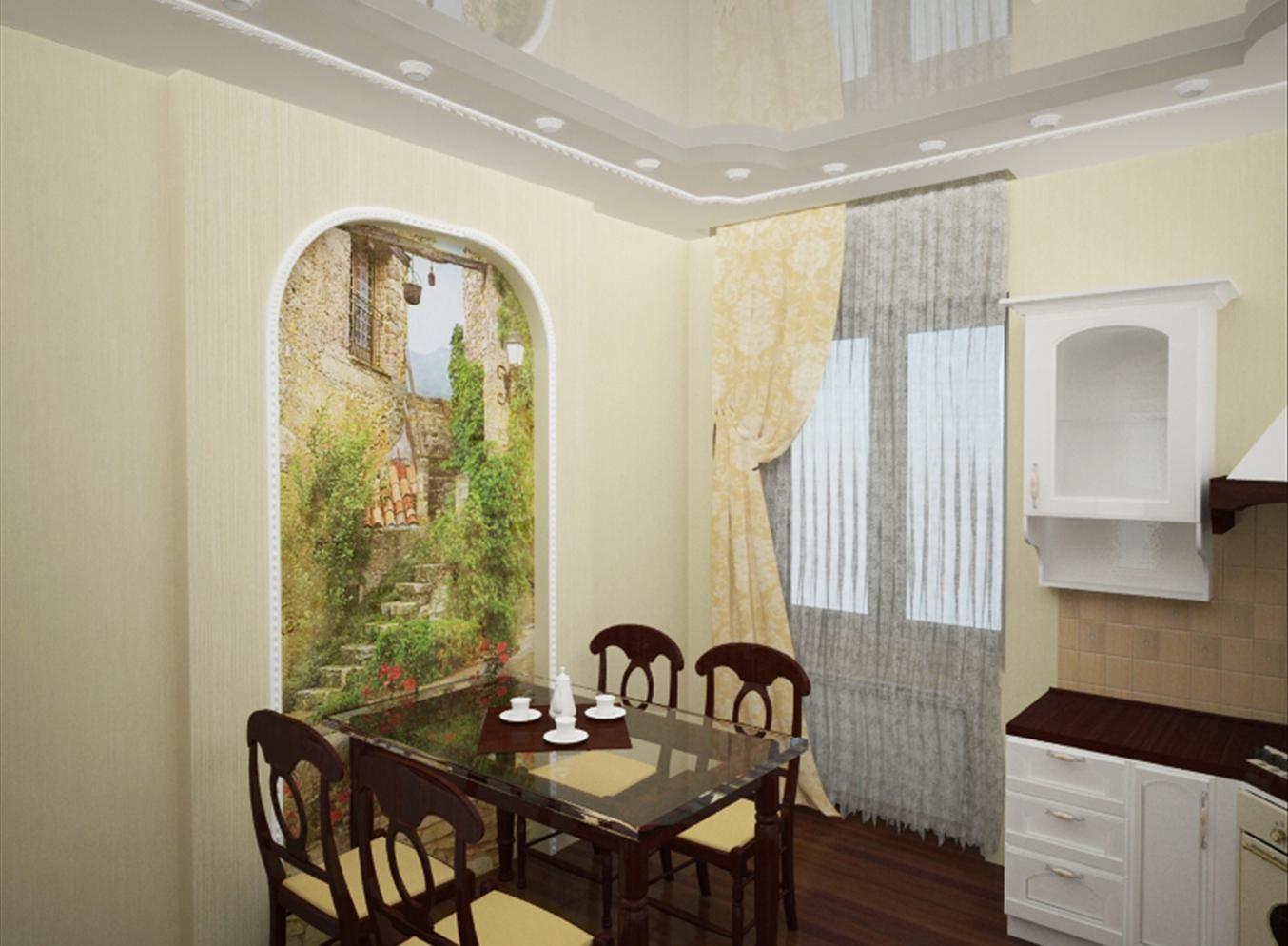 фотообои на кухню на стену фото