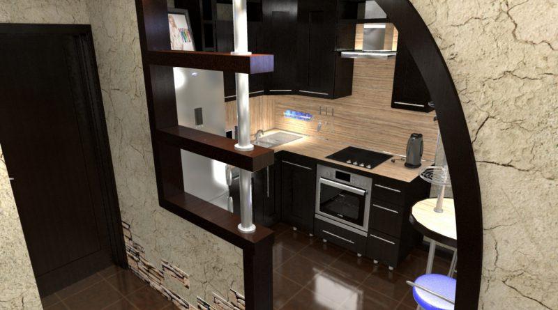 Перегородки из гипсокартона фото кухня-гостиная