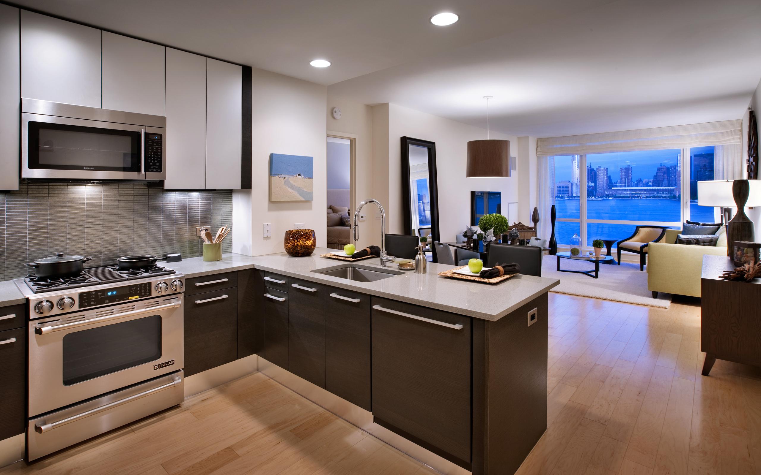 Кухня комната дизайн фото в современном