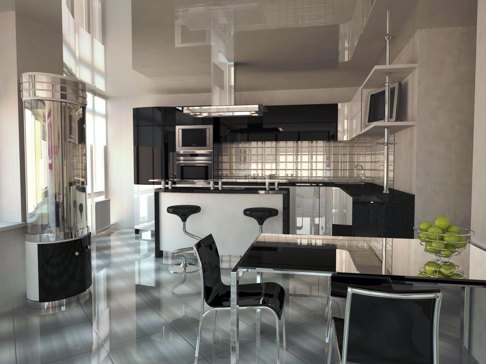кухня студия принципы зонирования и виды планировок 40 фото