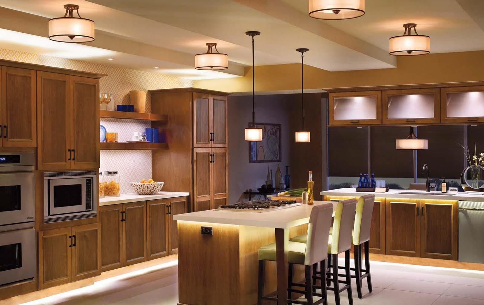 Светильник в кухню фото