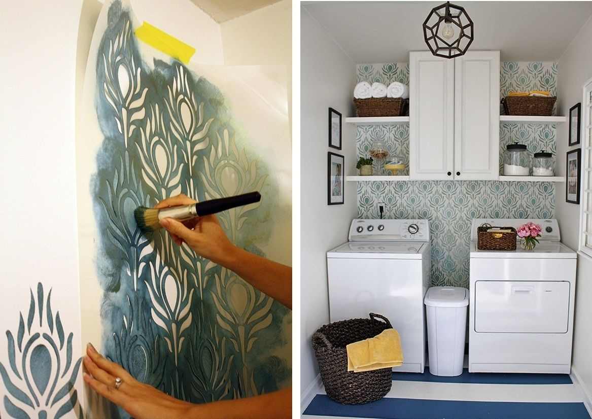 Дизайнерское оформление стен на кухне: декор и стиль (38 фото)