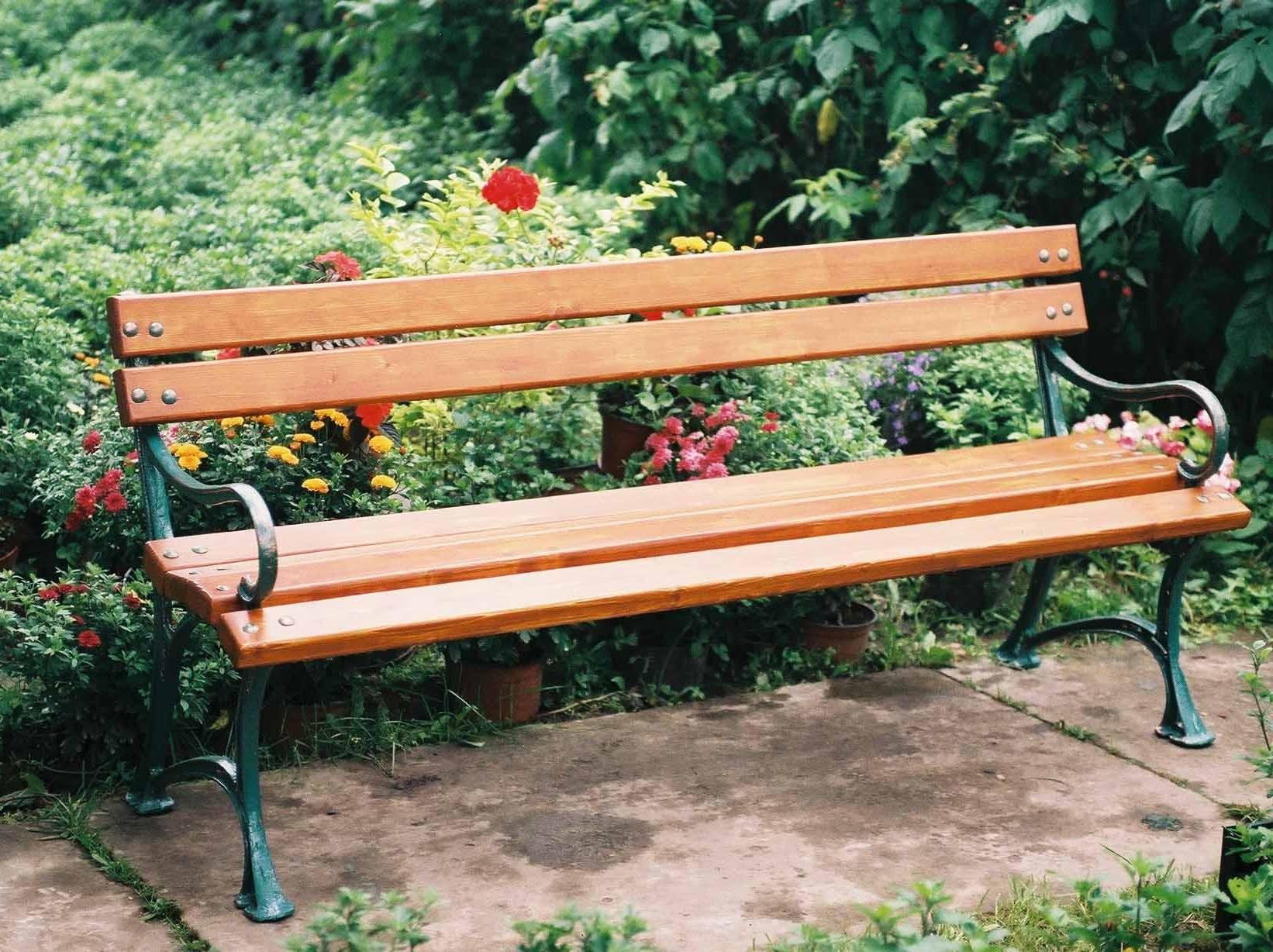 Скамейка из дерева своими руками для приусадебного участка 63