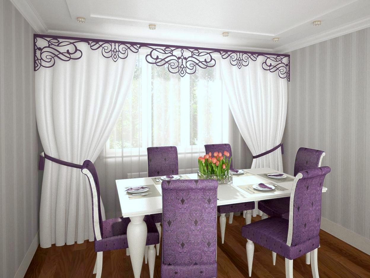 шторы фото для кухни фото