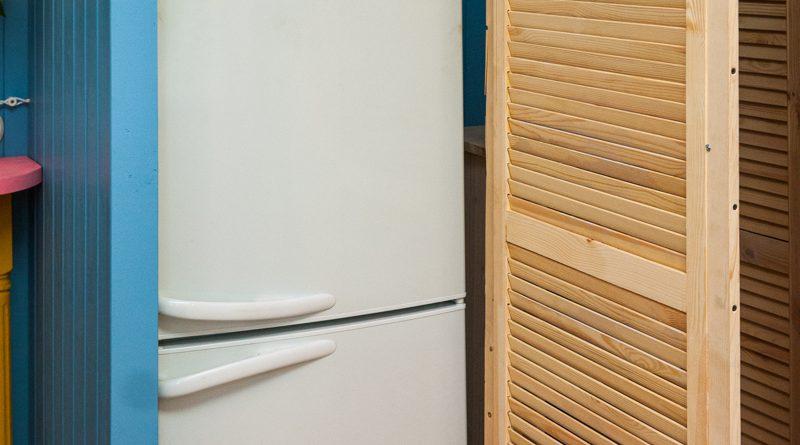 холодильник в кладовой