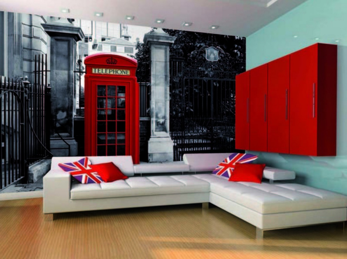 Дизайн комнаты в стиле лондон для девушки