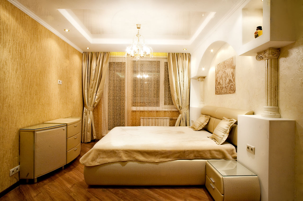 Интерьер спальни в хрущевке фото в современном стиле