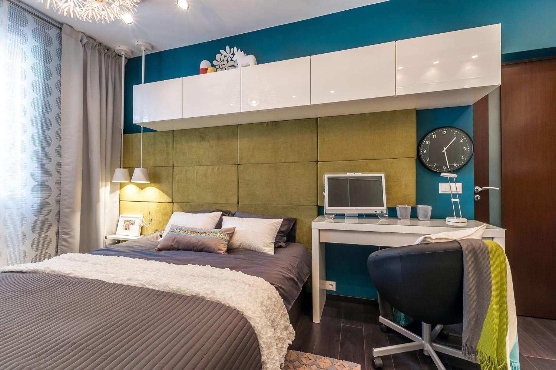 Спальня кабинет 12 кв м дизайн