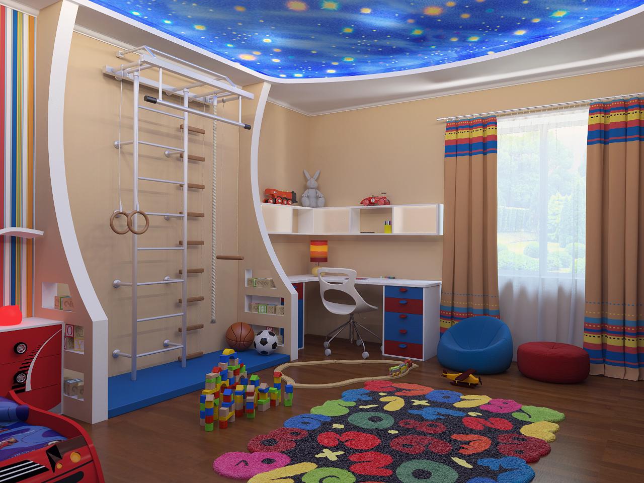 Дизайн комнат для мальчиков
