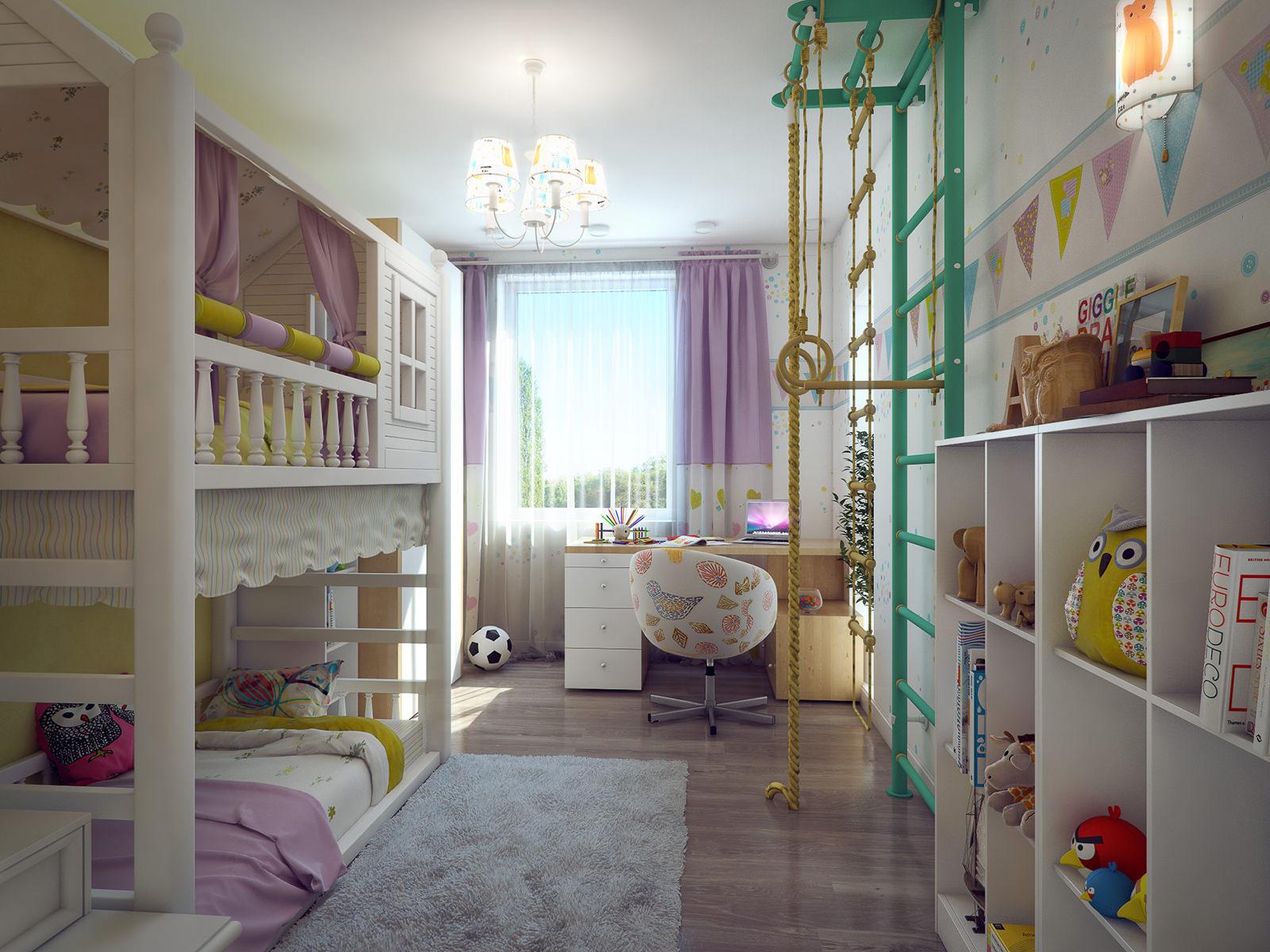 Игры составления интерьера в комнате