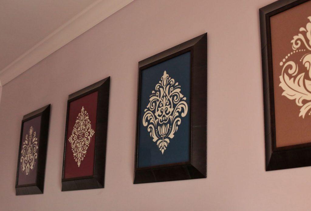 Панно из обоев на стену кухни и других комнат: инструкция как