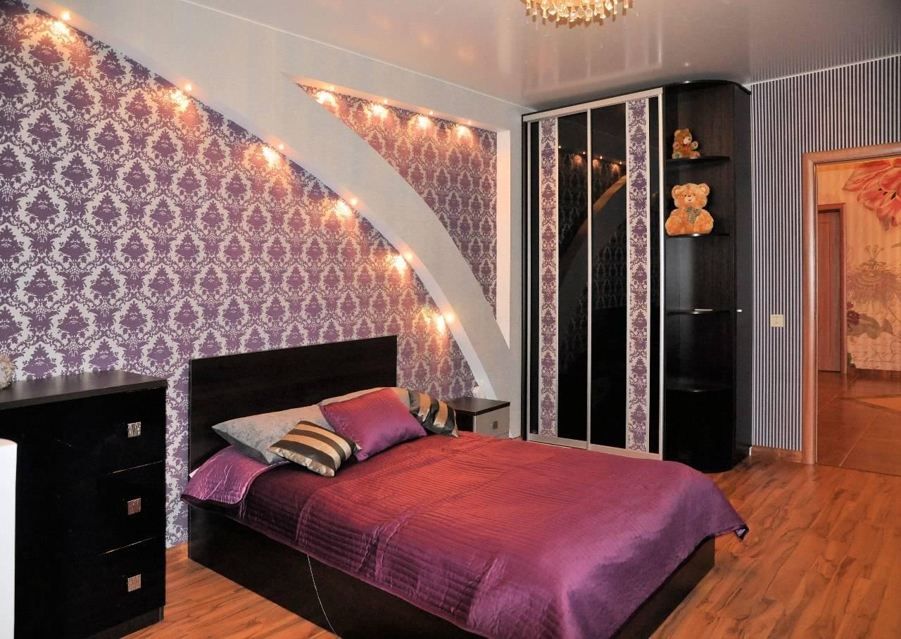 Дизайн спален - оформление спокойного стиля (+40 фото).