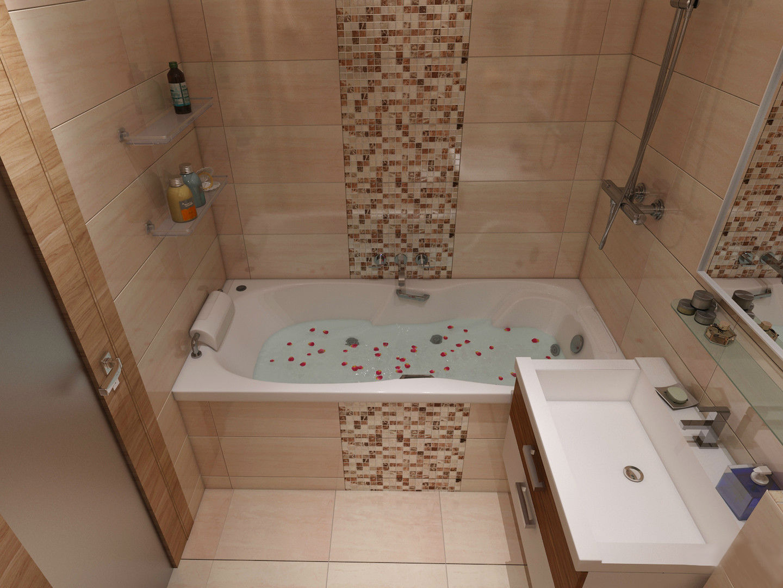 Ванна 2 на 3 дизайн