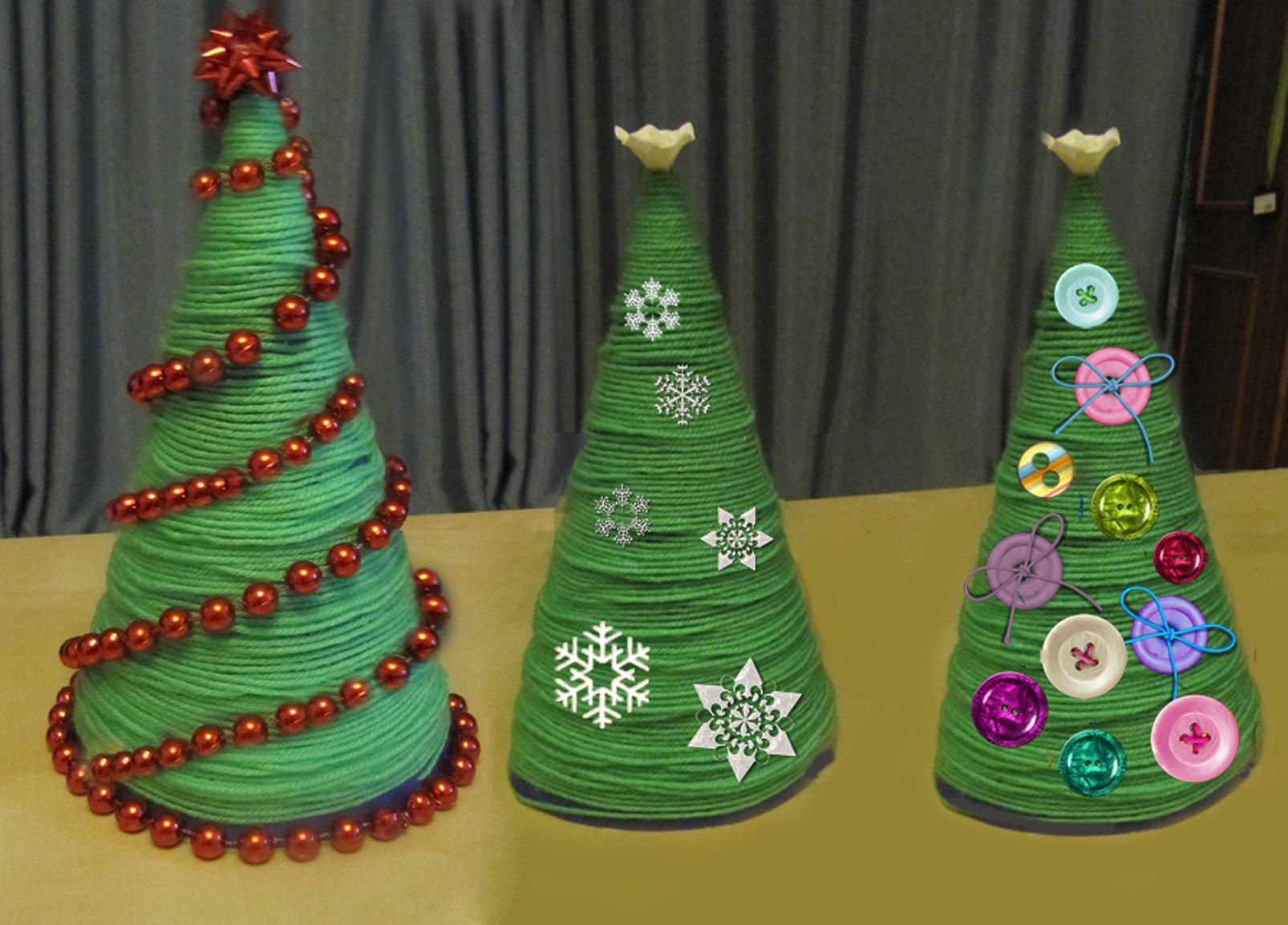 Оригинальная елка своими руками на конкурс фото 285