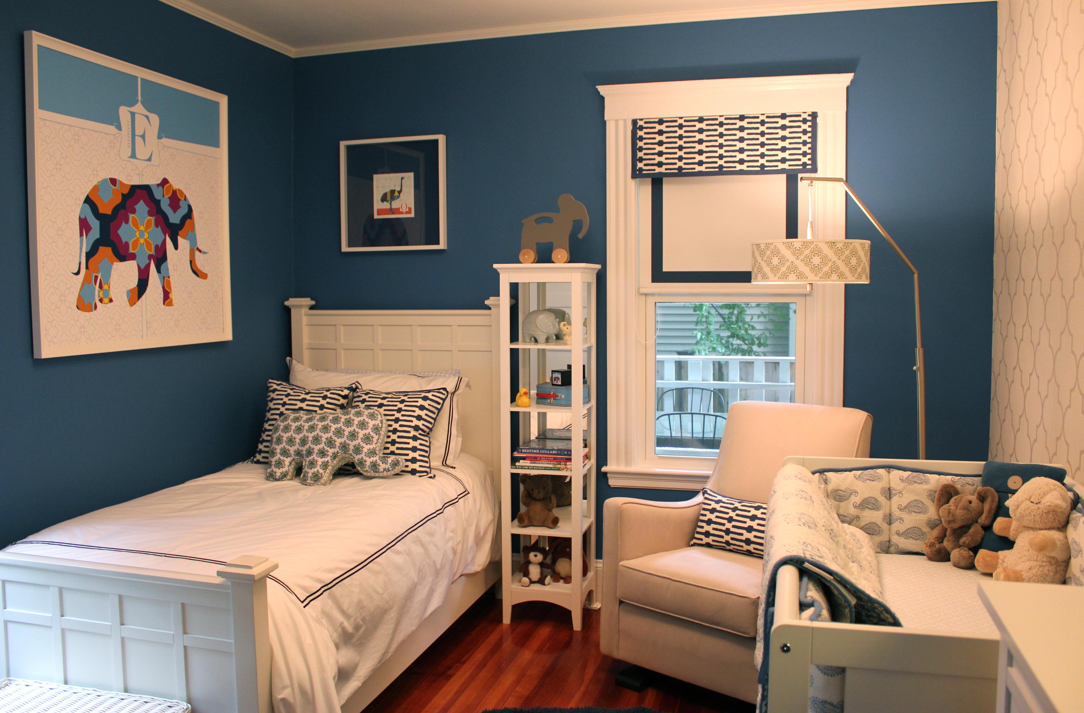 Детская комната для мальчика и мамы дизайн