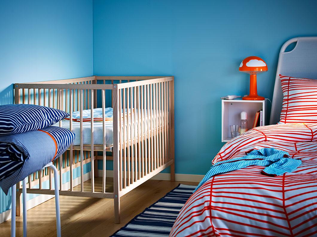 Кроватки в дизайне интерьера детской