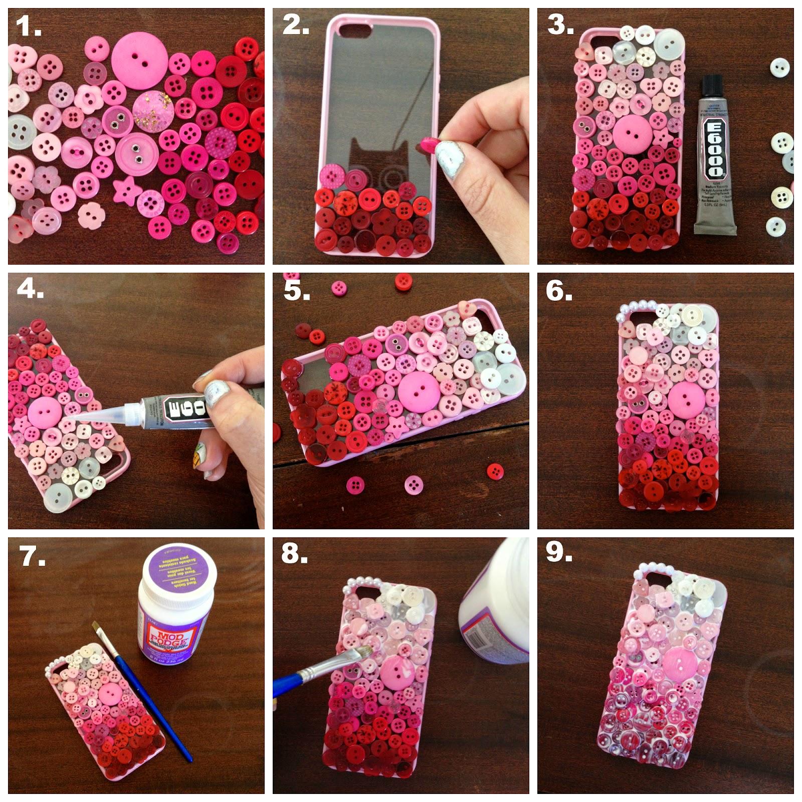 Как сделать телефон красивее своими руками