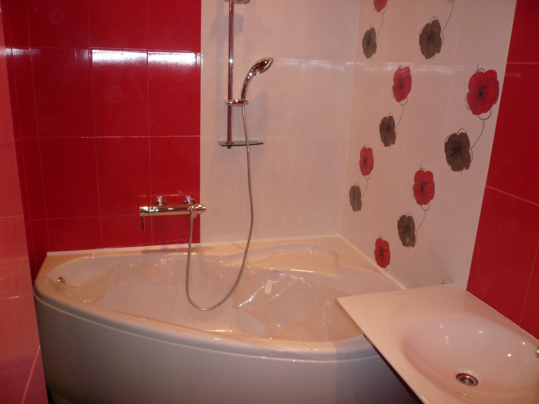 Идеи для дешевой ванной фото