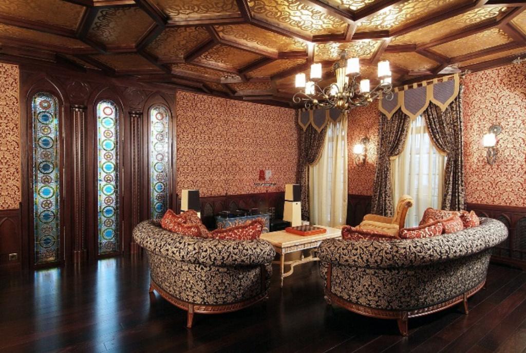 Роспись в интерьере арабского стиля