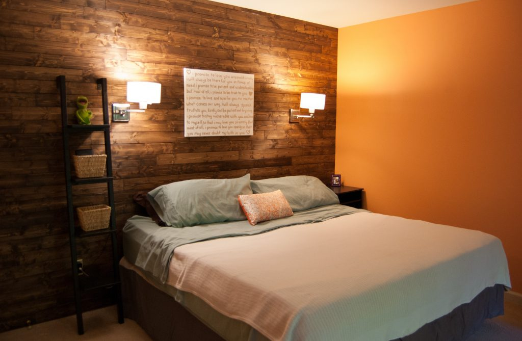 Гостиная совмещенная со спальней