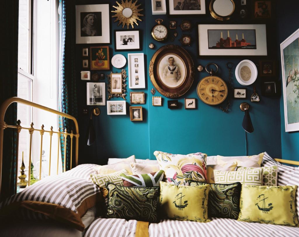 Комната в стиле Бохо Классик