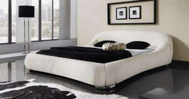 Создание черно-белого интерьера спальни — креативность и баланс (+40 фото)
