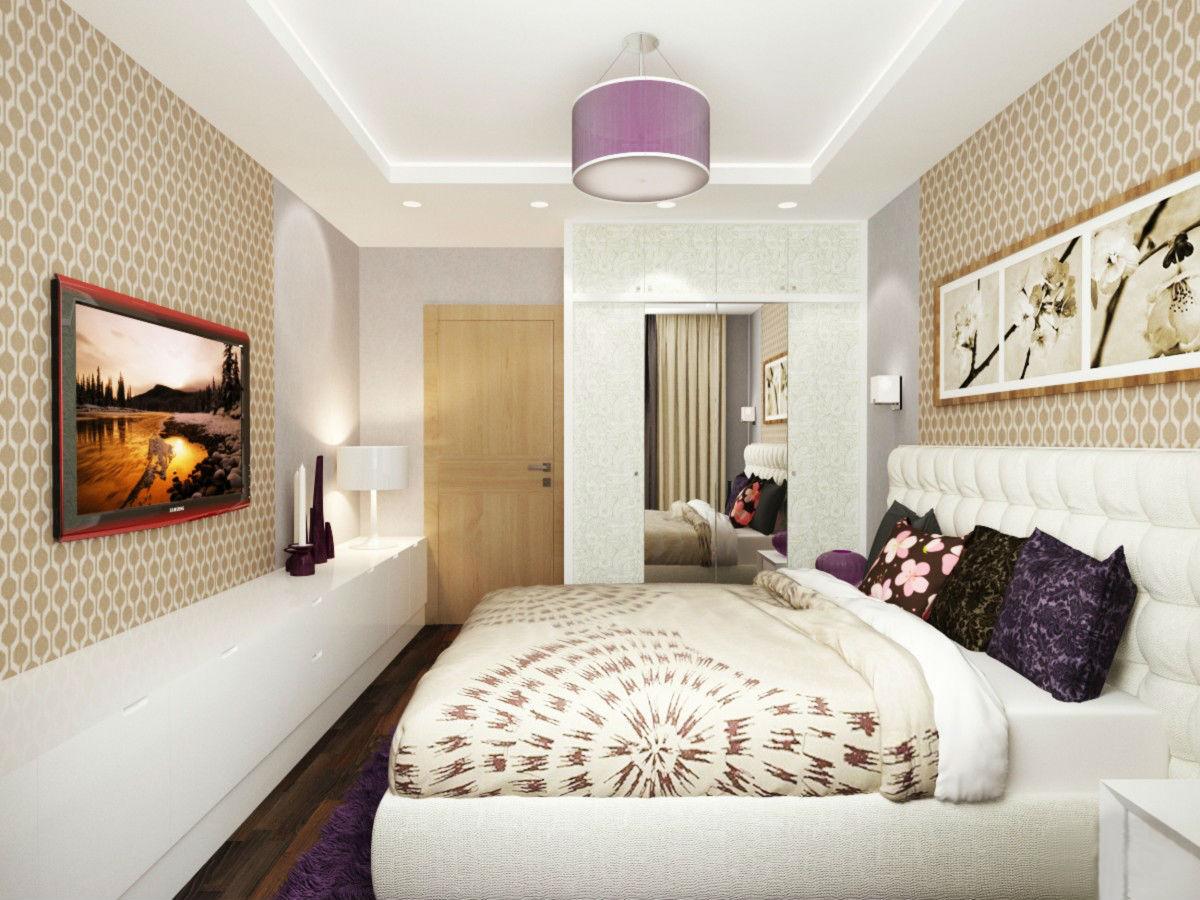Комната 12 м дизайн спальня