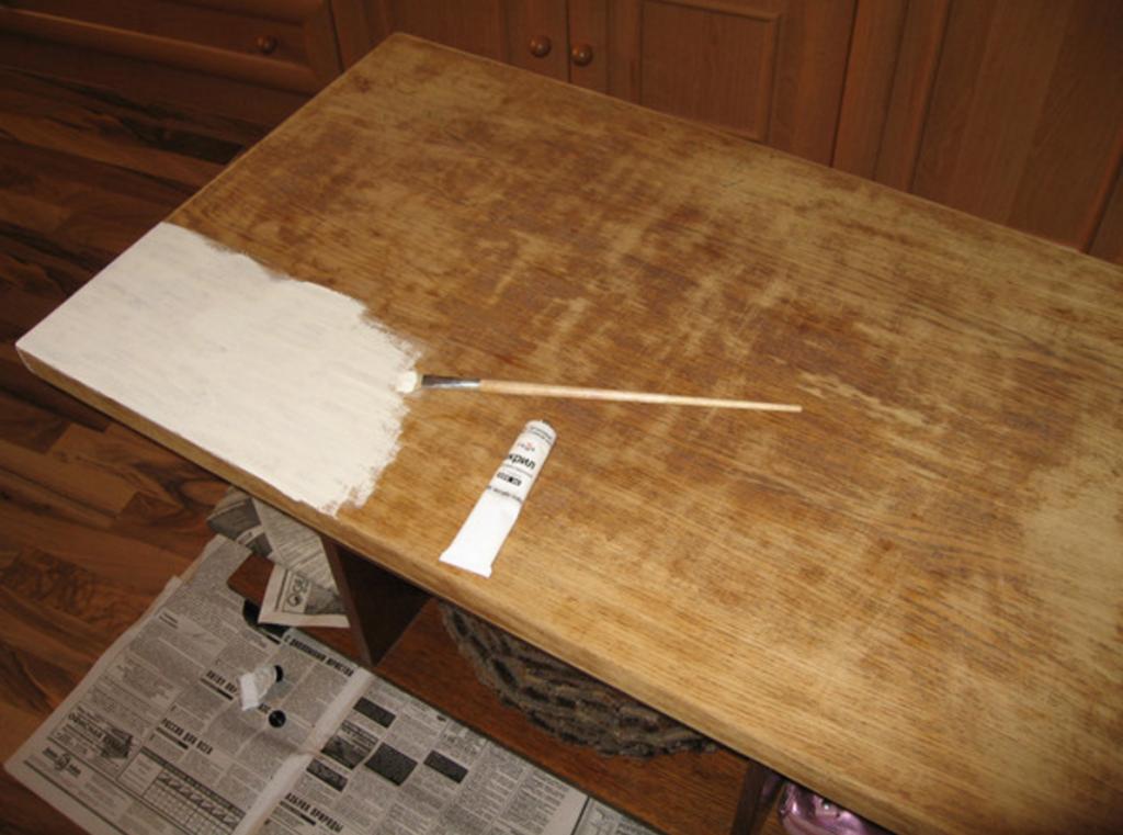 Декор журнального столика своими руками Строительный портал