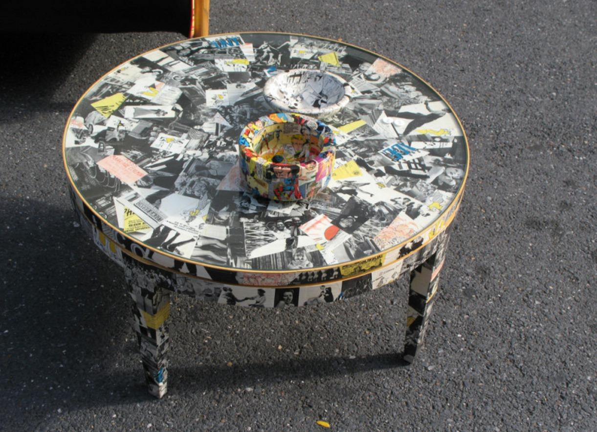 Журнальный столик своими руками в стиле сафари