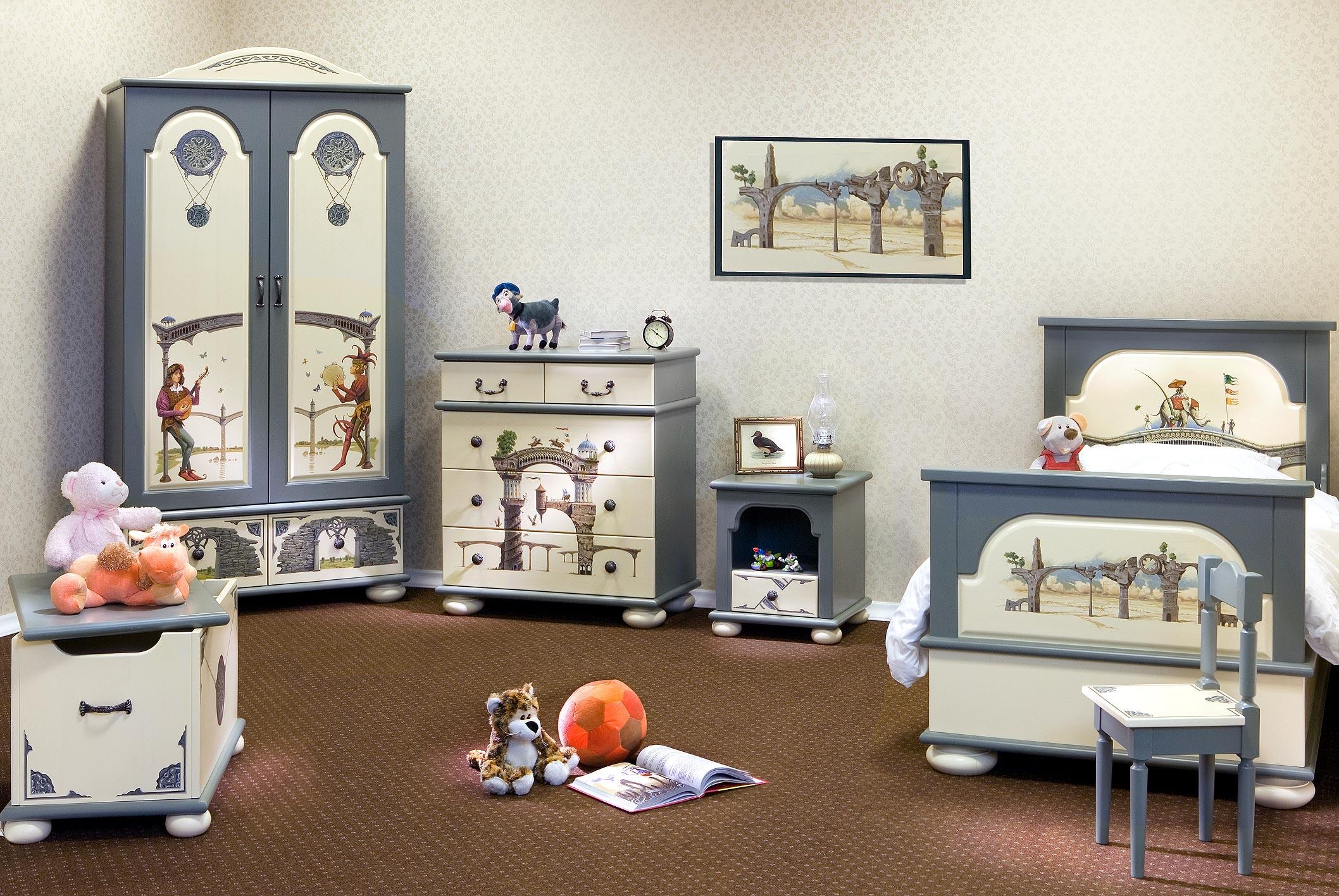 Стиль прованс в интерьере детской комнаты: характерные черты.