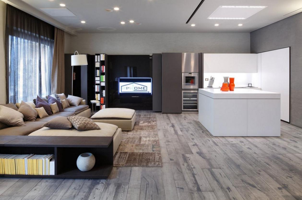 Интерьер квартир хай тек дизайн