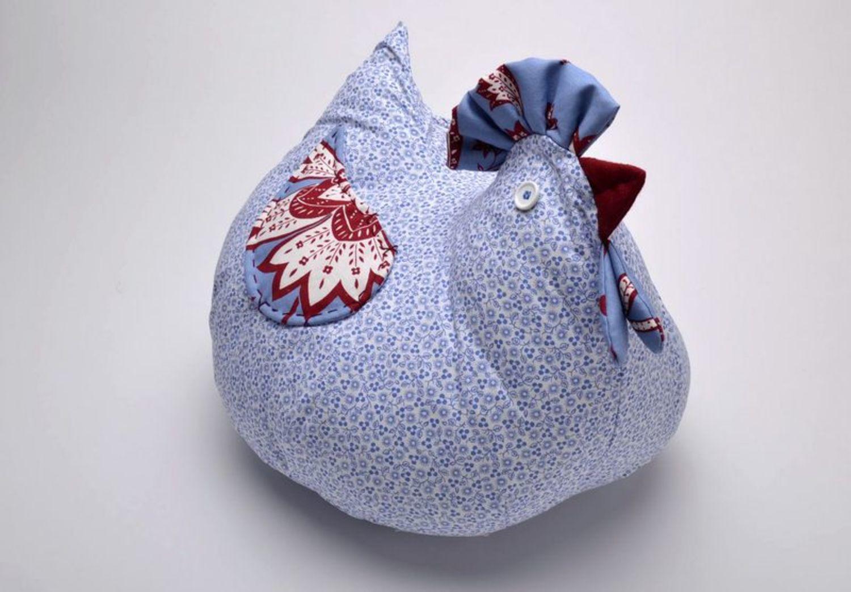 Петушок подушка из ткани