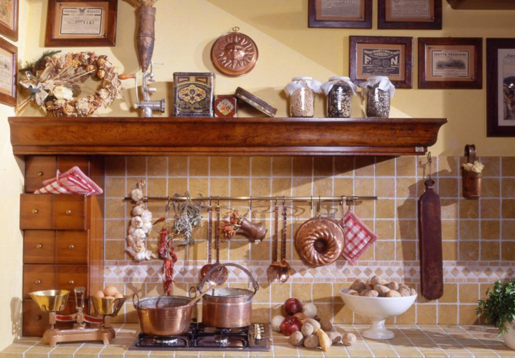 Итальянский интерьер кухни