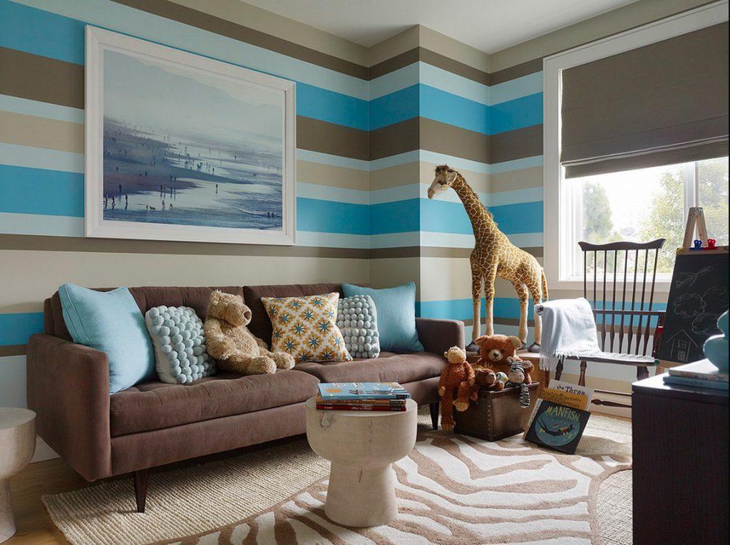 Цветовое оформление для комнаты мальчика