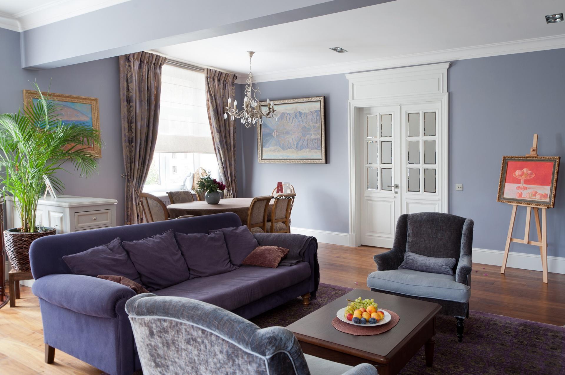 Цветовые гаммы и интерьер квартиры