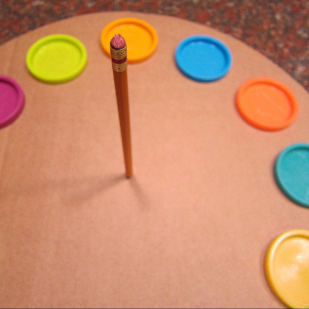 Часы из картона мастер-класс