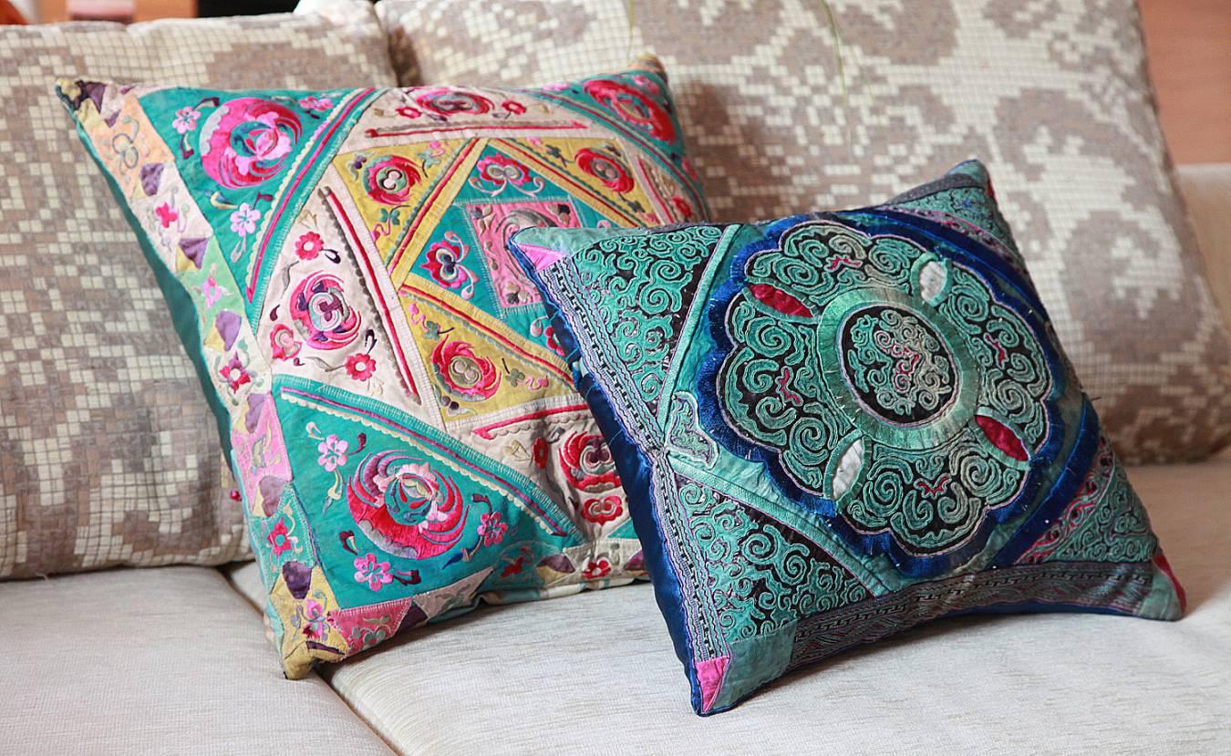 Оригинальные подушки своими