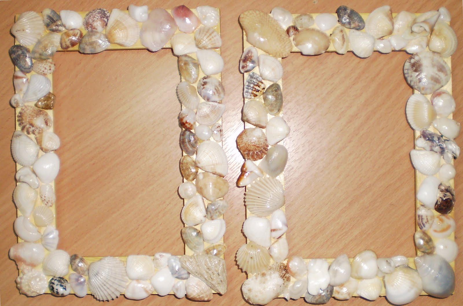 Рамки из ракушек своими руками фото