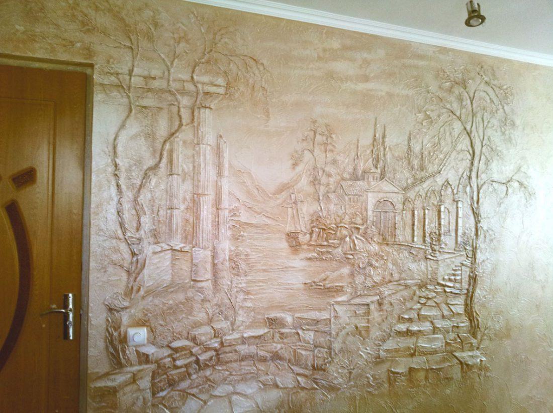 Как украсить стену в комнате своими руками: 7 вариантов (+44 фото)