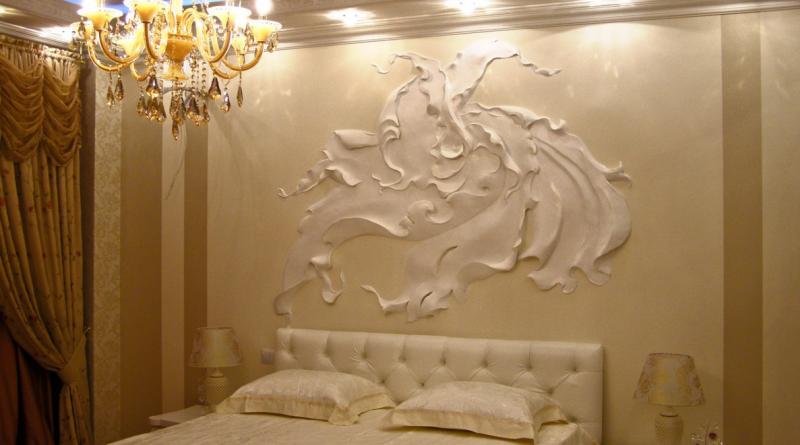 Как украсить стену в комнате своими руками: 7 вариантов ( 44 фото)