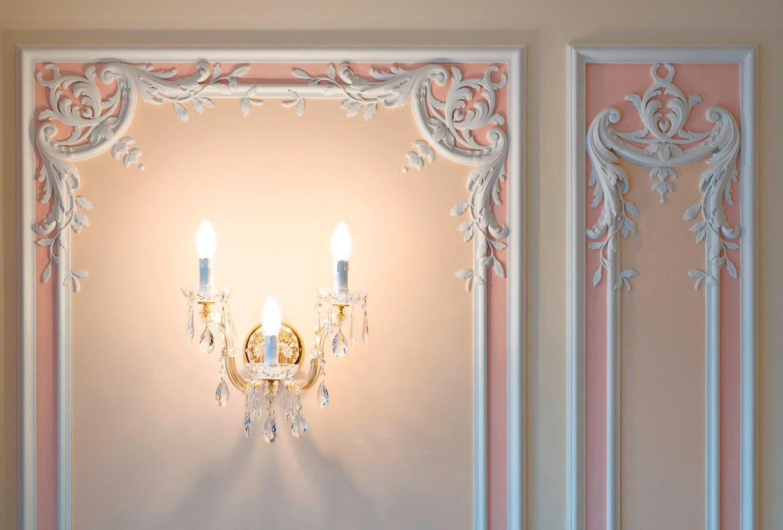 Молдинги для стен: 40 фото лучших идей декор комнаты 60